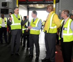 DHL Ceo facility tour 2