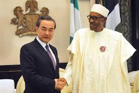 Chinese Foreign Minister, Wang Yi & Nigeria President  Muhammadi Buhari
