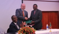 "Government of Zambia and the European Union signed the Financing Agreement for the ""Support to the Zambia Energy Sector: Increased Access to Electricity .."