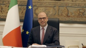ITALY Minister of Foreign Affairs and International Cooperation, Angelino Alfano