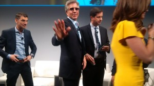 Waiving hand is SAP global CEO, Bill McDermott immediately after opening the SAP SAPPHIRE NOw 2017 in Orlando, Florida, USA. Photo by Savious-Parker Kwinika, CAJ News