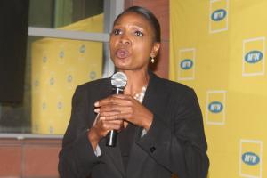 MTN Foundation Programmes Manager, Judy Maluleka photo : GIFT NDOLWANE