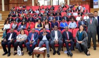 Delegates and beneficiaries of the SAP Skills for Africa East African programme launch in Nairobi, Kenya on Wednesday.