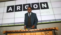 Co-CEO at Argon Securities,Thapelo Magoro.