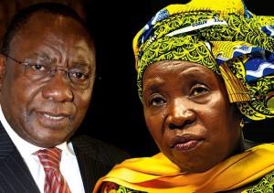 Ramaphosa, Dlamini-Zuma