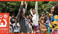 Angelina Jolie celebrates at Heshima Kenya's Nairobi campus in 2017