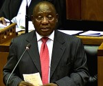 South African President  Cyril Ramaphosa addresses State of the Nation (SONA)
