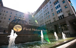 First National Bank head office in Johannesburg, SA