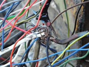 illegal power connections