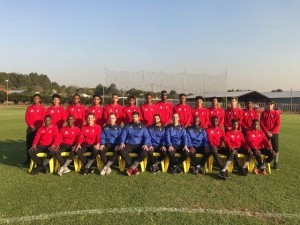 Some of the stars in the Vodacom NXT LVL soccer competition and their mentors