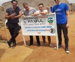 Left to Right: Ray Youssef – Paxful CEO and Co-Founder Artur Schaback  and Co Founder Jan Strandberg, Chief Marketing Officer Elliott Hoffman - VP of Business Development