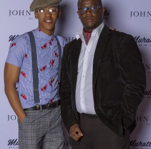 Who said men don't have fashion? Meanswear being showcased at the John Craig event Wednesday evening at the Melrose Arch, Johannesburg