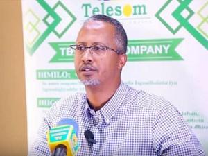 Somalia's Telesom CEO, Abdikarim Mohamed Eid honoured at AfricaCom