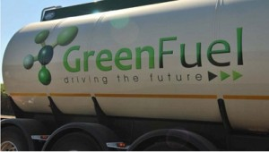 GreenFuel truck in , Chisumbanje, Manicaland, Zimbabwe. Photo supplied