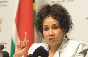 South African Minister of International Relations and Cooperation, Ms Lindiwe Sisulu