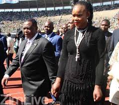 Zimbabwe vice president Contstantino Chiwenga and wife Mary, photo ZimLive