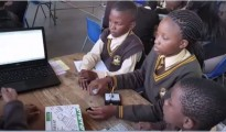 South African youth leading coding