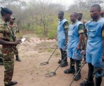 Landmine clearance in Sengwe communal lands, Chiredzi
