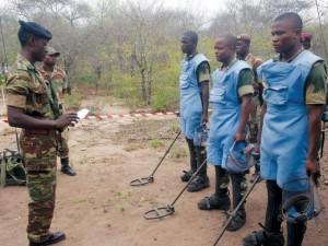 Landmine clearance in Sengwe communal lands, Chiredzi