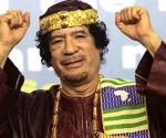 Slain former Libyan president Muammar Gaddafi