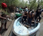 Crude oil theft in Nigeria, file photo
