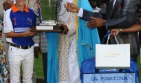 Emir of Kano, HRH Sanusi Sanusi centre presents the most valuable player of the 2018 tournament flanked by The Access Bank UK Chairman Herbert Wigwe (right). As The Access Bank UK prepares to host its' 2019 Polo Day at Guards Polo Club Windsor on Saturday 13 July it has posted results showing another year of outstanding international business growth. 2018 was the year that it joined the three key UK clearing systems, and collected the best African Trade Finance Bank Awards from both International Finance and CFI. All four strategic business units returned double digit growth.