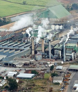 Triangle sugar refinery, file photo