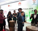 Drum Cafe Student send off at Huawei Technologies' event