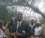 Chiredzi south Ward 10 Councillor, Leonard Makondo. Photo by Walter Mafeking, CAJ News Africa