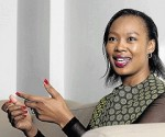 South Africa Minister of Communications, Telecommunications and Postal Services, Stella Ndabeni-Abrahams. File photo.