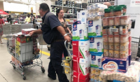 Panic buying in South Africa has become order of the day despite the Department of Trade and Industry )DTI) assuring the nation and entire SADC region enough food supplies. Photo. Twitter