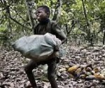 child labour in Ivory Coast. Photo, file picture