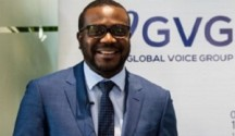 Global Voice Group (GVG) Chief Executive Officer, James Claude