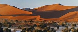 Namibia's main tourist attraction places