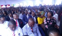 A sea of Zimbabweans living in SA, diplomatic corps, investors and entrepreneurs at President Emmerson Mnangagwa's meeting in Pretoria. Photo, Savious Kwinika, CAJ News
