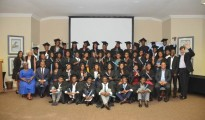 Graduates of the Altron Learning Centre celebrate their graduation with Altron executives
