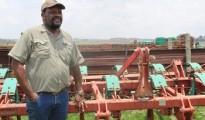 South African black farmer, Dr Job Mthobeni of Mbombela, Mpumalanga. Photo by Anna Ntabane, CAJ News Africa